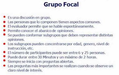 mecanica Grupo Focal